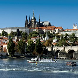 Photo: From whirlpools to the Prague Castle