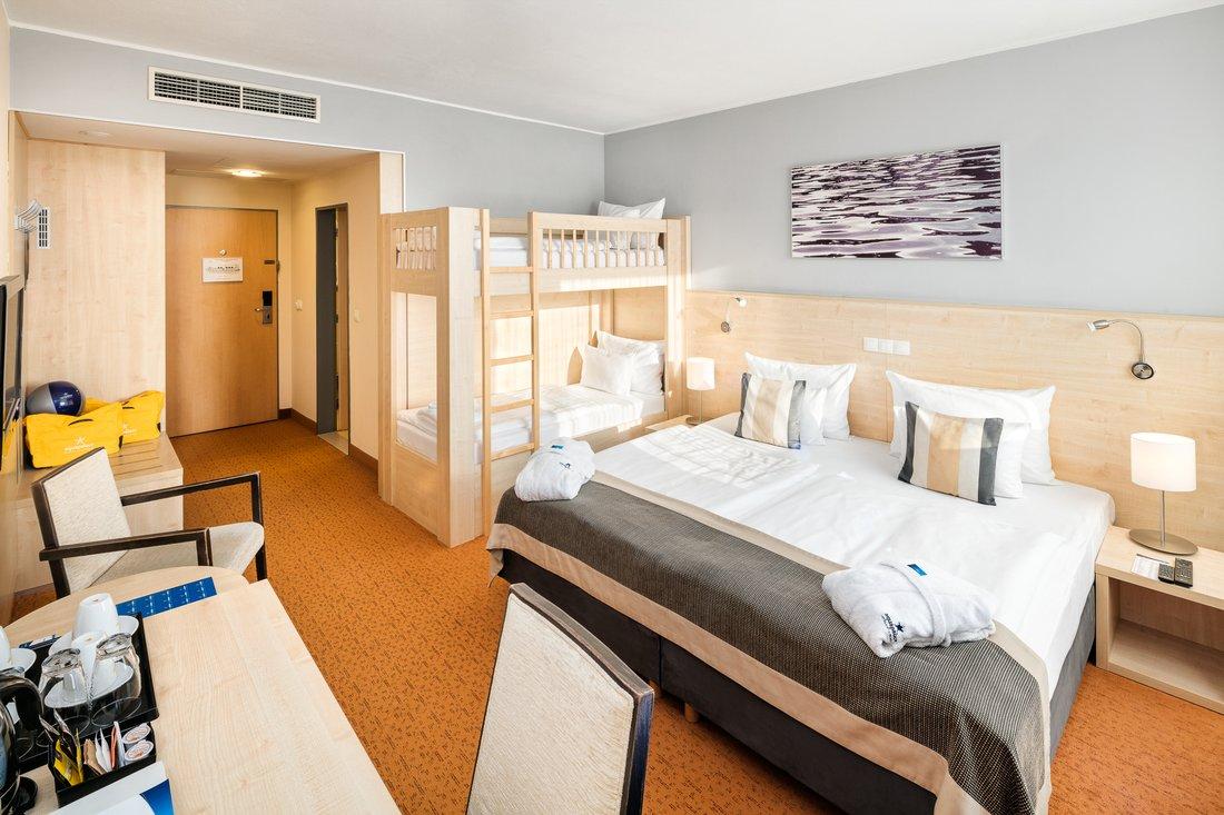 Familienzimmer - Aquapalace Hotel Prag